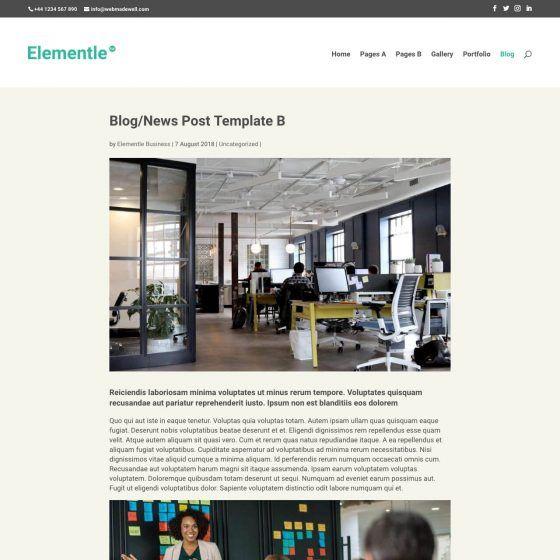 Blog Post B
